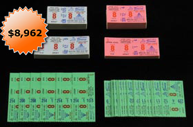 April 8, 1974 Hank Aaron Homerun #715 Record Breaker Ticket Stub Hoard of (192)