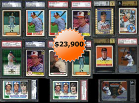 Ultimate 1981-2000s Cal Ripken Jr. PSA & BGS Graded Card Collection of (1450+) Cards--#2 on PSA Registry