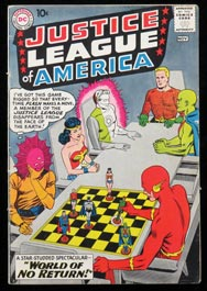1960 Justice League of America #1 Important Key Issue DC Comic Book