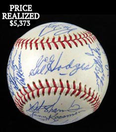 Miraculous 1969 New York Mets World Champions Team Signed Ball (29 Signatures)