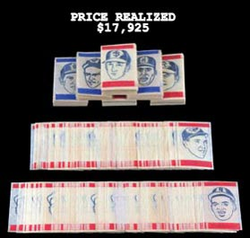 1965 Topps Transfers Hoard of (2400) with (24) Players-- (5) Hall of Famers Including Clemente