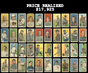 1909-11 T206 White Borders Near Complete Set of (511/524) Tobacco Cards
