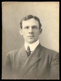 Striking 1900s John McGraw Mounted Studio Photo - Used for 1905 PC782 Rotograph Postcard!