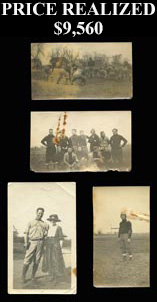 Knute Rockne, Family & Friends Antique Photograph/Postcard Lot of (46) with Football Scenes