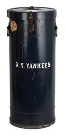 Original Yankee Stadium Ticket Stub Receptacle