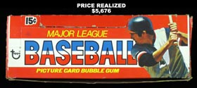 1976 Topps Baseball Unopened Wax Box of (36) Packs