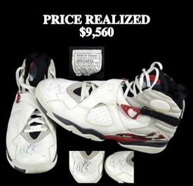 Michael Jordan April 22, 1993 Signed Game-Worn Shoes From His Last-Ever Regular Season Game at Chicago Stadium