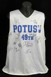 Barack Obama Signed Alonzo Mourning