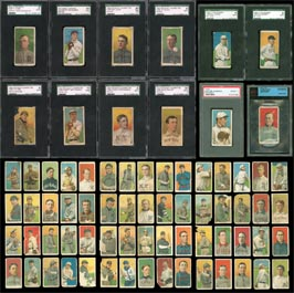 1909-1911 T206 Baseball Tobacco Card Complete Set of (520)