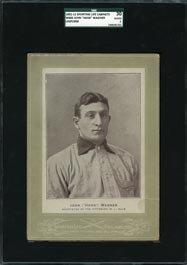 1902-11 W600 Sporting Life Cabinets Honus Wagner (Uniform)�SGC 30 Good 2