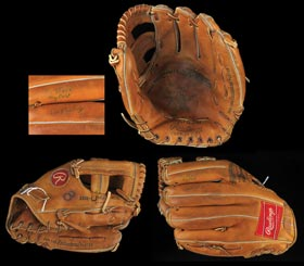 Cal Ripken Jr. Mid-1980s Signed Game Used Baseball Glove