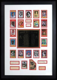 3000 Hit Club Collage with (24) Signatures Autographs including Roberto Clemente, Ty Cobb, Eddie Collins, Nap Lajoie, Honus Wagner & Paul Waner