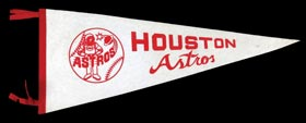 Extremely Rare 1960s Houston Astros