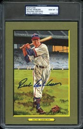 Near Impossible 1997 Perez-Steele Great Moments #98 Richie Ashburn Signed Card�PSA Gem Mint 10 (Auto Grade)