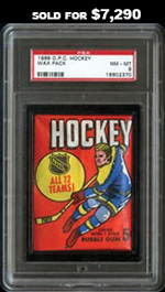 1968-69 O-Pee-Chee Hockey Unopened Wax Pack--PSA NM-MT 8