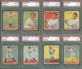 1933 Goudey Baseball Card Complete Set