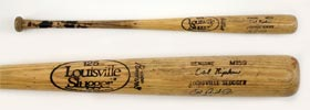 Cal Ripken Jr Game-Used Signed Autographed Baseball Bat Rookie Year Rochester Minor League PSA/DNA 10