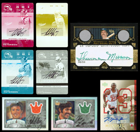 Certified Autographs, Inserts, Game-Used, Patch and Jersey Cards