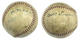 Shoeless Joe Jackson Signed Autographed Baseball