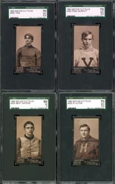 Mayo Football Card N302 Completely Graded Set