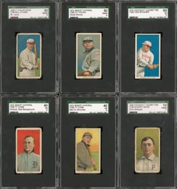 T206 Baseball Card Complete Set All SGC Graded Avg 46.69