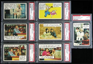 1970 Topps Hee Haw High Grade Near Card Set